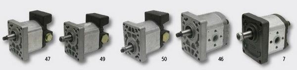 Pompy hydrauliczne do cviągników rolniczych FIAT.