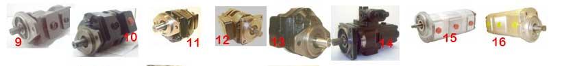 Pompy hydrauliczne do maszyn budolanych JCB.