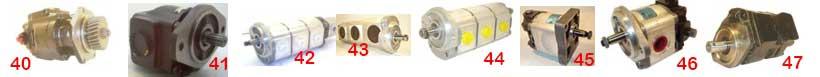 Pompy hydrauliczne - maszyny budowlane - JCB.